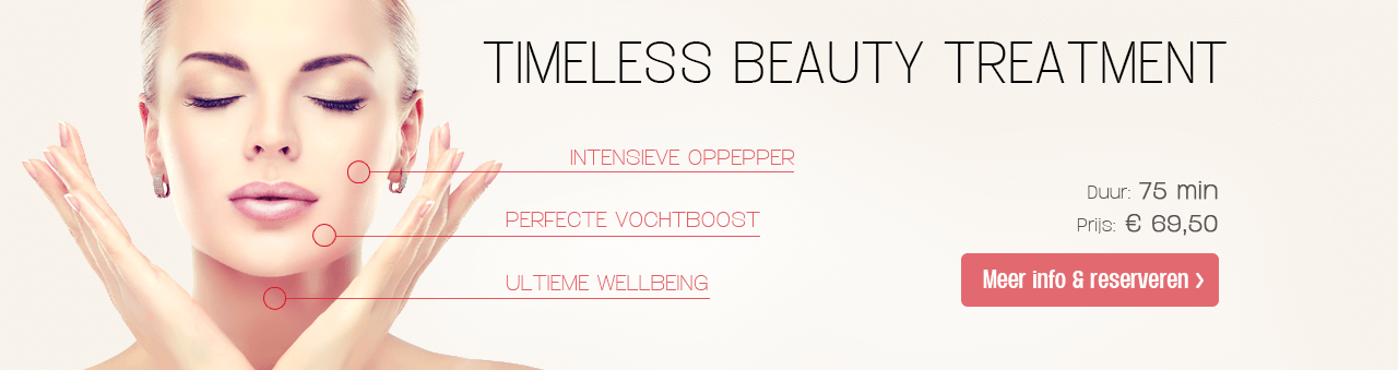 Timeless Beauty Treatment bij To Be Beautiful